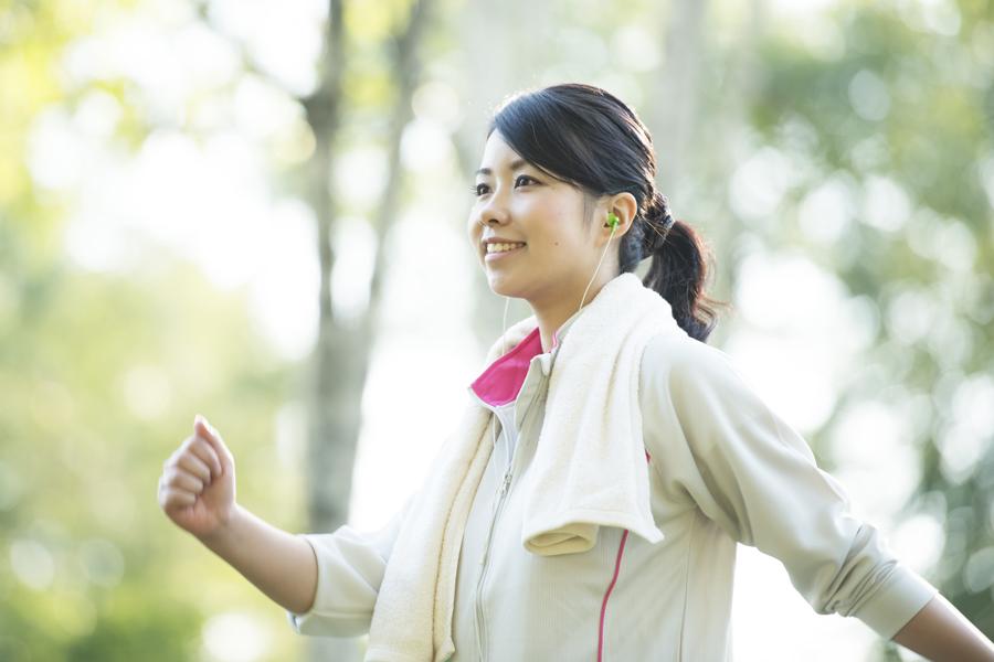 体力・持久力向上が目的の場合には有酸素運動を先に行います