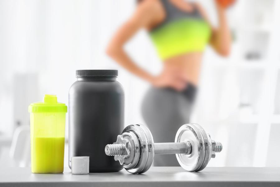 プロテインを上手く取り入れるとタンパク質補給が効率よくできます