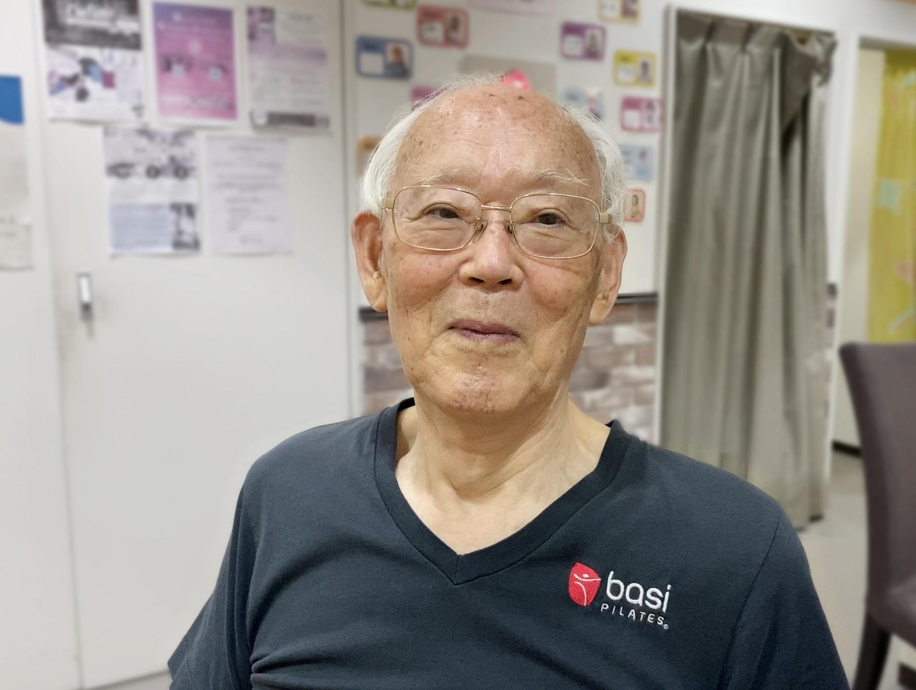 「自分の身体を鍛えることが、コロナに対する力になる。」父の日のプレゼントとしてピラティスを始めた、zen place会員歴7年の山口晋平さん(91歳)に直撃インタビュー!